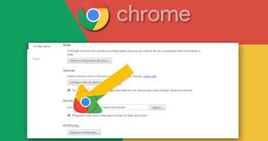 Como Ocultar a Barra de Downloads do Google Chrome