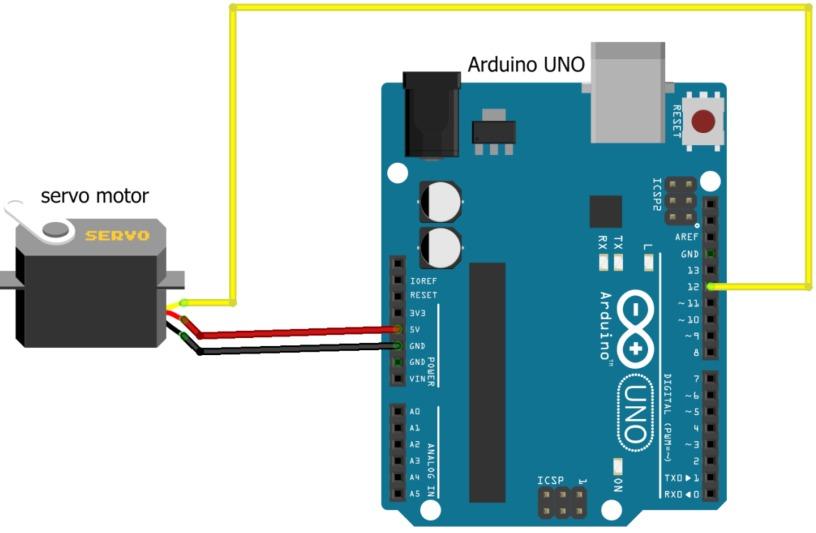 Servomotor com Arduino 1